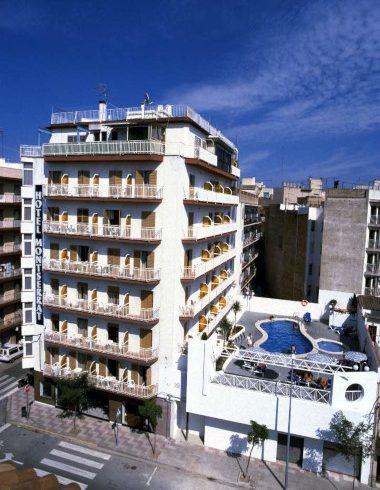Los inicios: Fotografía del Hotel Montserrat el año 1996