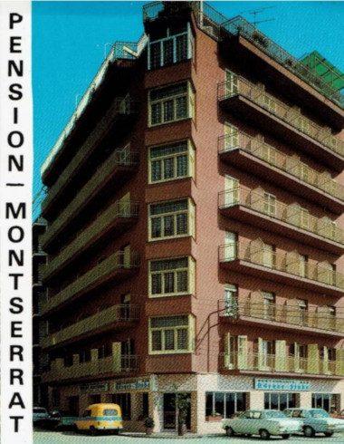 Los inicios: Fotografía de la Pensión Montserrat el año 1974